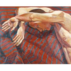 Tadeusz BORUTA (ur. 1957), Studium aktu - upadły anioł, 1997