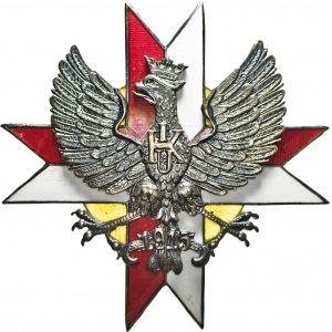 zestaw 2 szt. odznak, Pułk Ułanów Krechowieckich, repliki Panasiuk