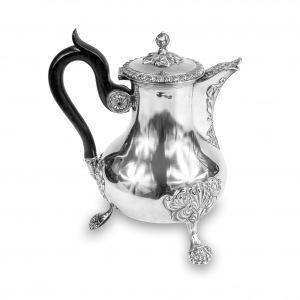 Dzban do kawy srebrny, Martial Fray, Francja (Paryż), 1849 - 1861