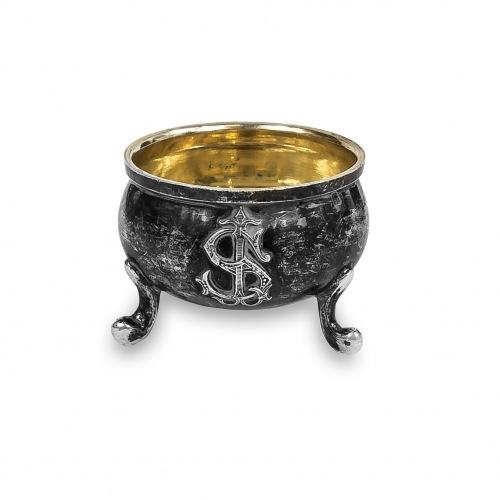 Soliczka srebrna, François-Auguste Boyer-Callot, Francja (Paryż), 2. poł. XIX w.
