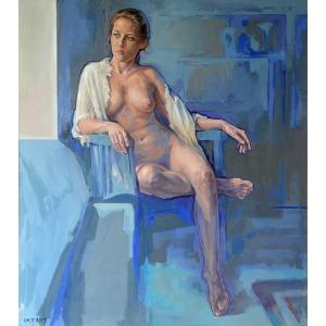 Marcin Jaszczak, Blue Room, 2017