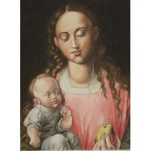 Piotr Stefanow, Madonna z dzieciątkiem (na podst. Dürera), 2017