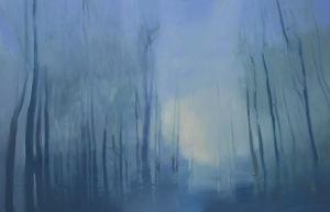 Agata Ruman Studium leśnego Światła