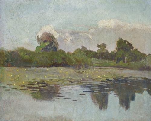 Chełmoński Józef, STAW, PO 1900