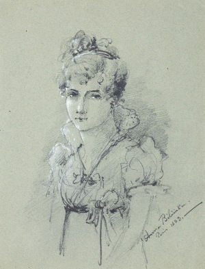 Bilińska - Bohdanowiczowa Anna, DAMA Z CZASÓW DYREKTORIATU, 1883
