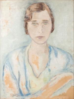 Leopold Gottlieb, PORTRET LENY, ok. 1930 - 1932