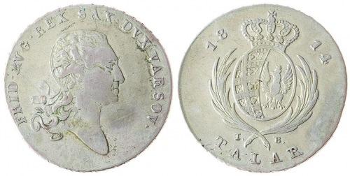 Księstwo Warszawskie, Talar 1814