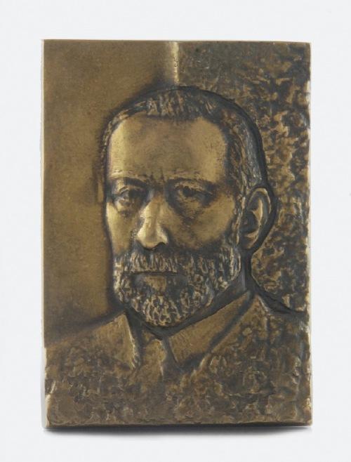 CZECHOWSKA-ANTONIEWSKA WIKTORIA (UR. 1929), Plakieta z portretem mężczyzny