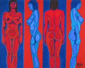 Robert Krężlak, 1975, Cztery strony świata, 2017