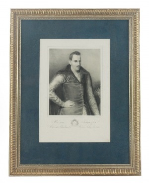 Wojciech GERSON (1831-1901), Portret hetmana Romana Sanguszko