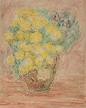 Emil KRCHA (1894-1972), Kwiaty w wazonie