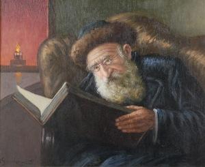 Konstanty SZEWCZENKO (1910-1991), Stary Żyd z księgą