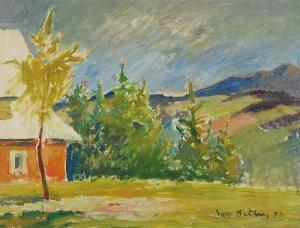 Jan BETLEY (1908-1980), Pejzaż, 1974