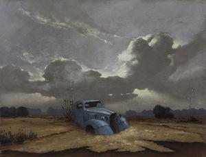Borys Michalik, Niebieski samochód