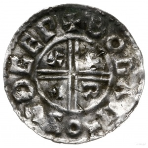 denar typu crux, 991-997, mennica Southwark, mincerz Bo...