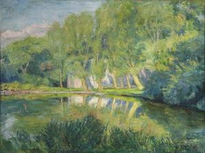 Roman Kramsztyk (1885-1942), Staw, [przed 1913]