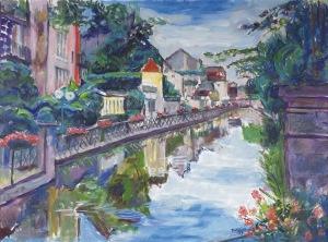 Teresa Wallis – Joniak (Ur. 1926), Nad rzeką w Dole, [2015]