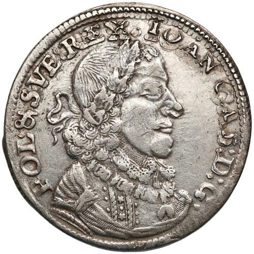 Jan II Kazimierz, Ort Bydgoszcz 1651 CG - wartość 21 - bardzo rzadki