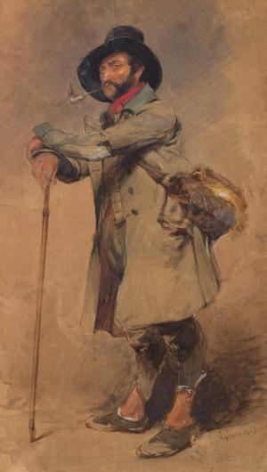 Gerson Wojciech, WĘDROWIEC, 1853