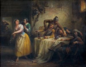 Ender Eduard, WESOŁE TOWARZYSTWO, 1852