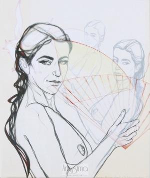 Joanna Konieczna-Zapart, Wachlarz, 2017