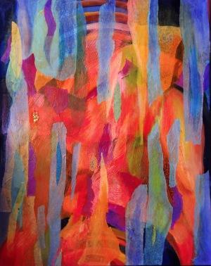 Kamila Wojciechowicz (ur. 1991, Fitzroy), Rainbow Gumtree, 2016 r.