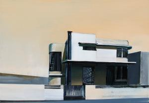 Maria Kiesner (ur. 1976, Warszawa), Dom modernistyczny, 2017 r.