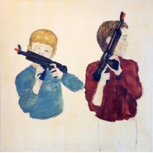 Dorian Karolak, Chłopcy z karabinami, 2017