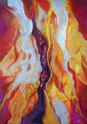 Kamila Wojciechowicz (ur. 1991, Fitzroy), Fire Composition, 2018 r.