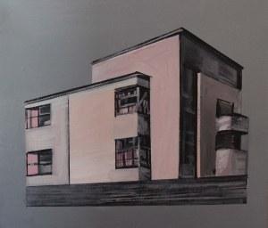 Maria Kiesner (ur. 1976, Warszawa), Dom różowy, 2018 r.
