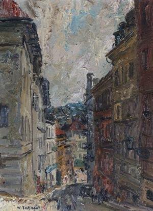 Włodzimierz ZAKRZEWSKI, ULICA BEDNARSKA W WARSZAWIE, 1963