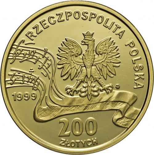 200 złotych, 1999, Fryderyk Chopin, Au