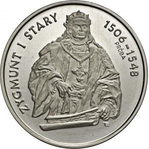 200000, 1994, PRÓBA, NIKIEL, Zygmunt I Stary (półpostać)