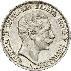 2 marki, 1907, Wilhelm II