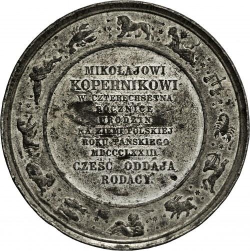1873, 400. rocznica urodzin Mikołaja Kopernika