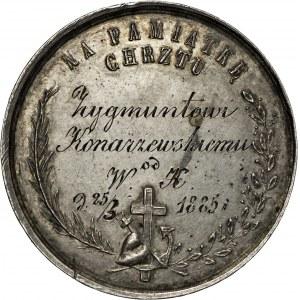 1885, medal chrzestny, Józef Majnert?