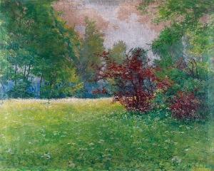 Teodor ZIOMEK (1874-1937), Wiosenna łąka