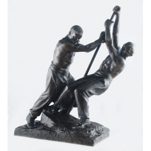 "Henri Louis LEVASSEUR (1853-1934), ""Praca wre"""