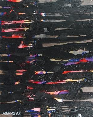 Witold ABAKO (ur. 1958), Interwały postfizykalne IX, 2012