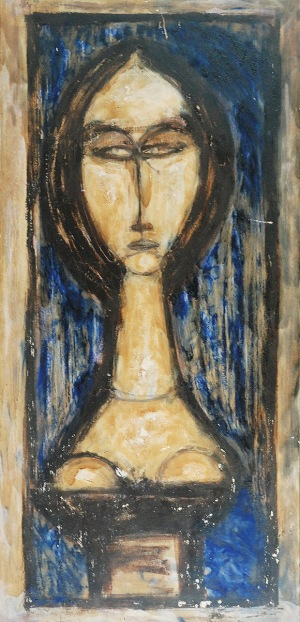 Adam NIEMCZYC (1914-2009), Eurydyka, 1961