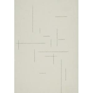 Maciej GĄBKA (ur. 1993), Line Composition I, III - dyptyk, 2014