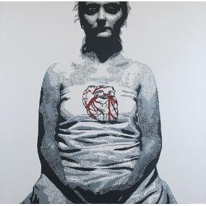 Bartek JARMOLIŃSKI (ur. 1975), Heart, z cyklu: Organica, 2013/2017