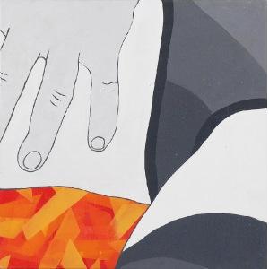 Viola TYCZ (ur. 1973), Obrazek 500+ 1, 2016
