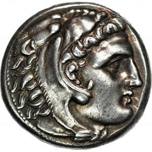 Grecja - moneta w typie Aleksandra Wielkiego, Tetradrachma – prawdopodobnie początek III w pne