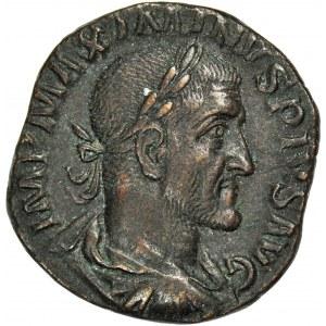 Cesarstwo Rzymskie, Maksymin Trak (August 235-238 ne), Sesterc, mennica Rzym
