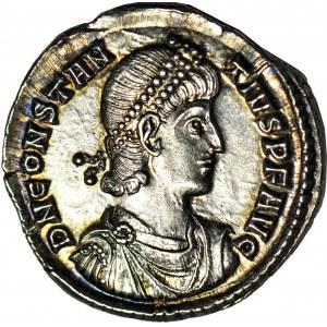 Cesarstwo Rzymskie, Konstancjusz II (August 337-361 ne), Silikwia, mennica Konstantynopol, oficyna trzecia