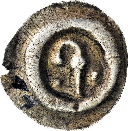 RRR-, Pomorze, Biskupstwo Kamieńskie, Brakteat, Pastorał, R6 (znane 11 szt.)