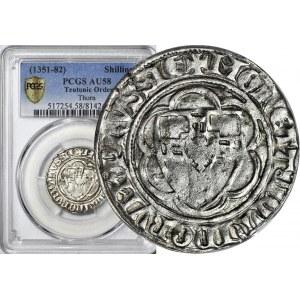 RR-, Zakon Krzyżacki, Winrych von Kniprode 1351-1382, PÓŁSKOJEC, rzadki, R4