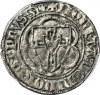 R-, Zakon Krzyżacki, Winrych von Kniprode 1351-1382, PÓŁSKOJEC, rzadki, R4
