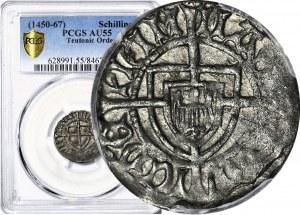 Zakon Krzyżacki, Ludwik von Erlichshausen 1450-1467, Szeląg, Toruń, R3